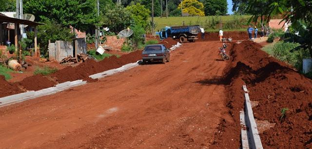 Obras de infraestrutura transformam ruas no Jardim Anchieta