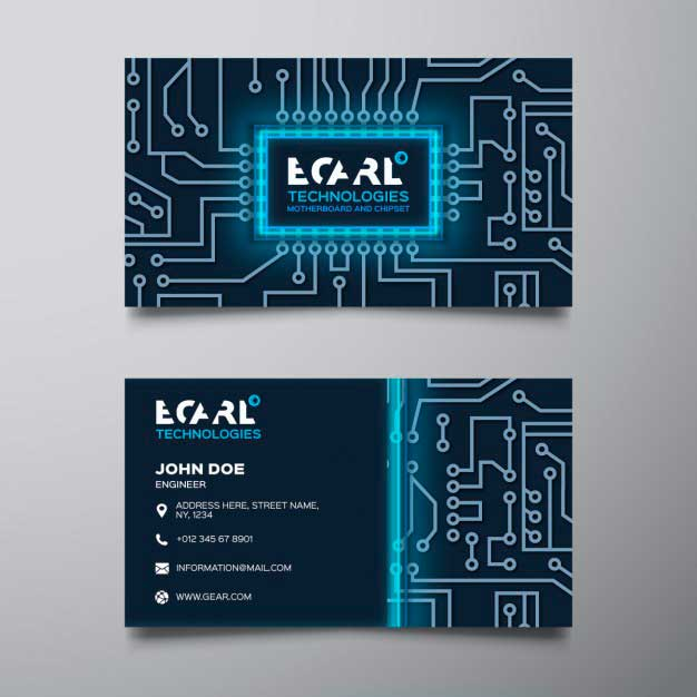 Blue Technological Corporate Card