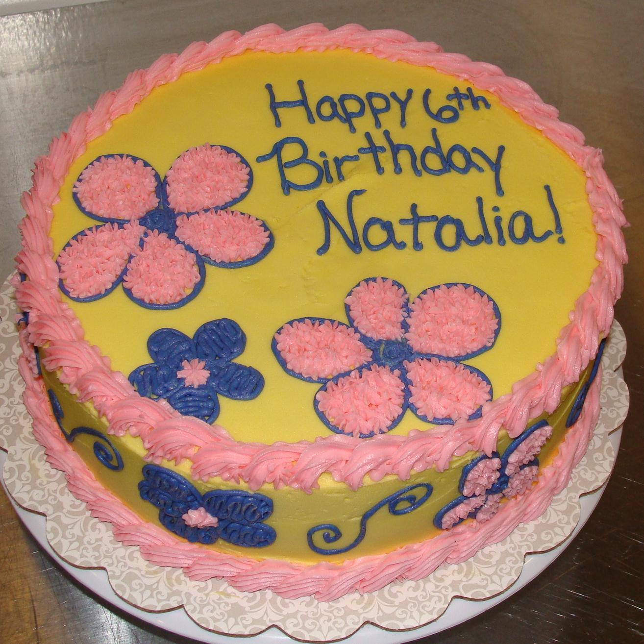 Door County Custom Cakes And Cookies Natalia S Birthday Cake