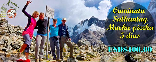 Trek Machu Picchu salkantay