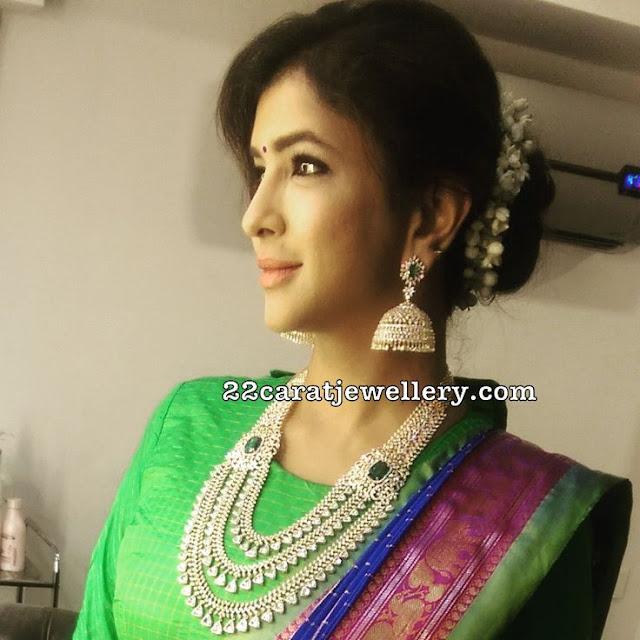 Lakshmi Prasanna Manchu Jewellery Designs