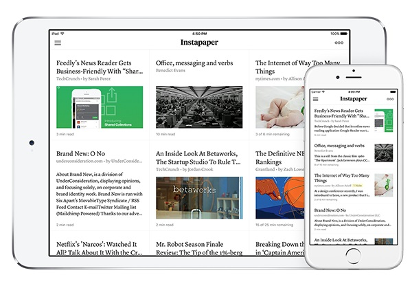 Instapaper 7 arrives on iOS with Article Thumbnails and more