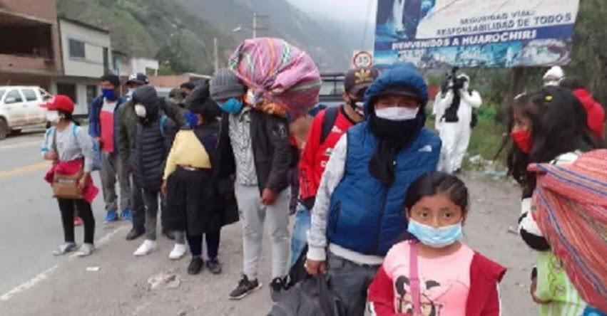 MUNLIMA: Inscripción para traslados humanitarios desde Lima - www.munlima.gob.pe