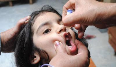 تطعيمات شلل الأطفال
