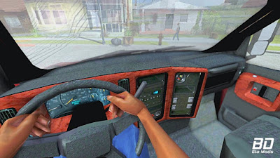 Chevrolet Kodiak C4500 para GTA San Andreas - Interior