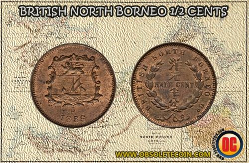 1/2 cent coin