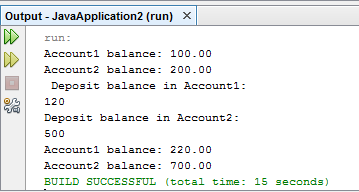 Create Java Program for credit balance and withdraw balance