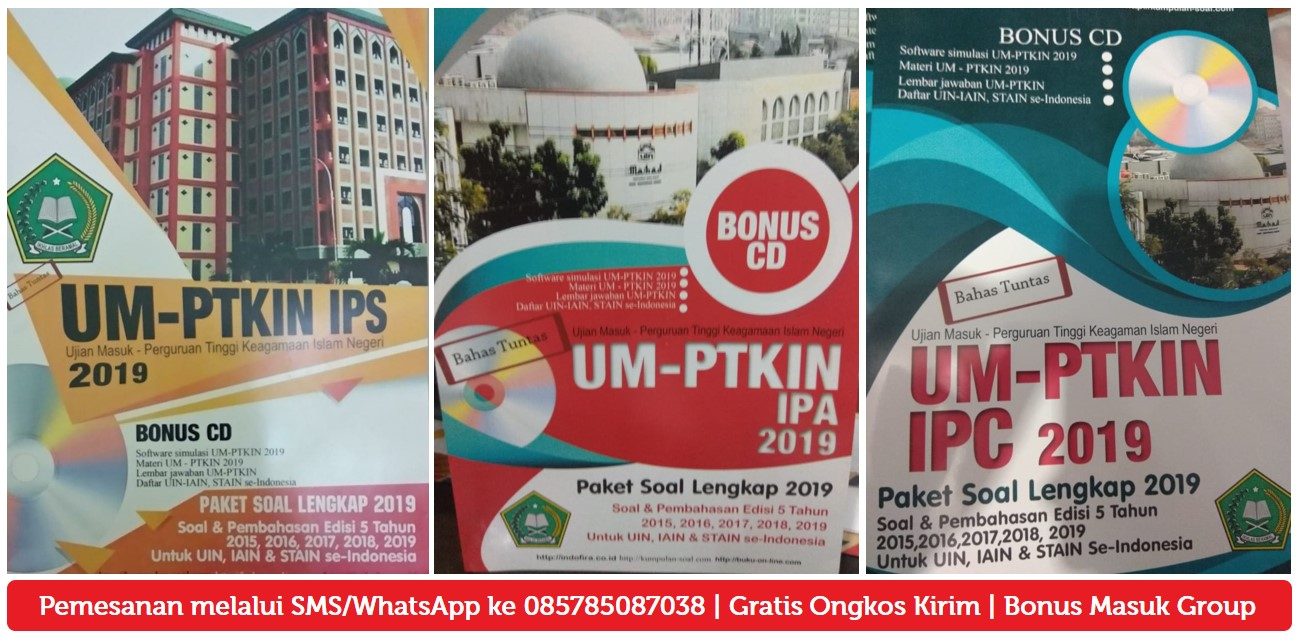 download Soal UM-PTKIN IPS 2019, SOAL UM PTKIN IPA 2019, SOAL UMPTKIN IPC 2019 DOWNLOAD