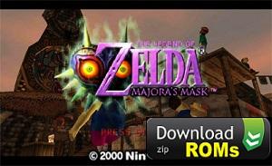 Game The Legend of Zelda Majoras Mask Rom N64 [U] Mega