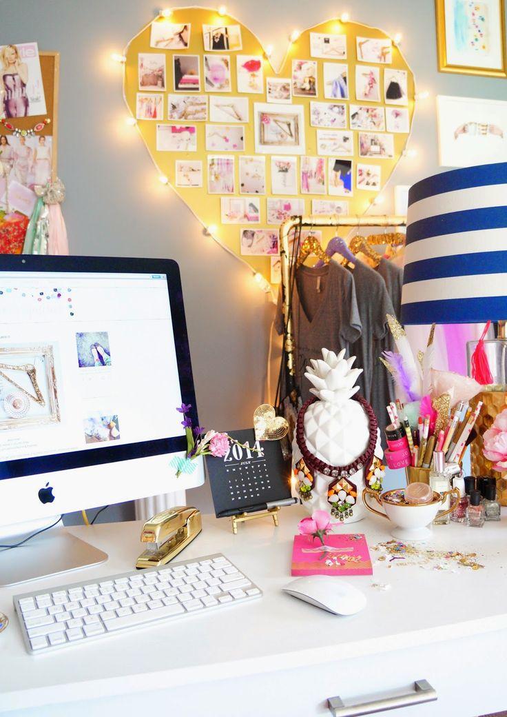 como decorar mi escritorio