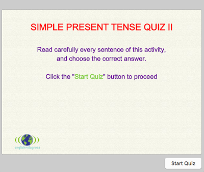 English Language Resources Simple Present Tense Worksheet Ii