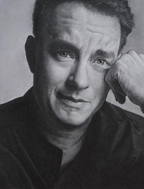 07-Tom-Hanks-ekota21-Very-Detailed-Celebrity-Portrait-Drawings-www-designstack-co
