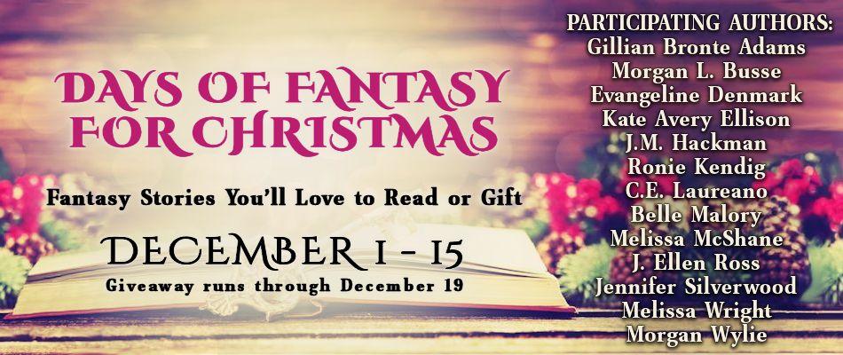 J. Ellen Ross for DAYS OF FANTASY FOR CHRISTMAS