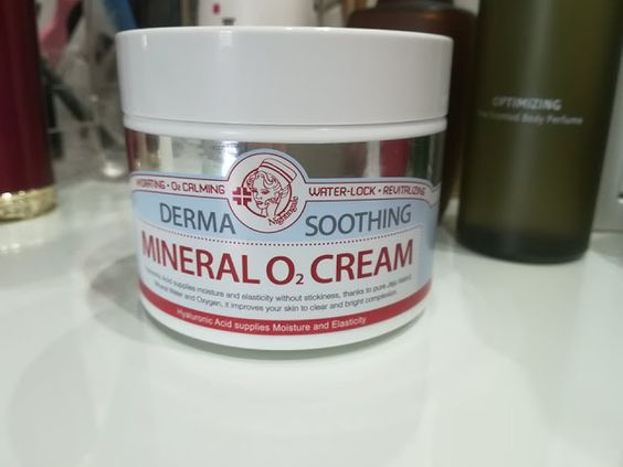 Nightingale Derma Soothing Mineral O2 Cream 100ml