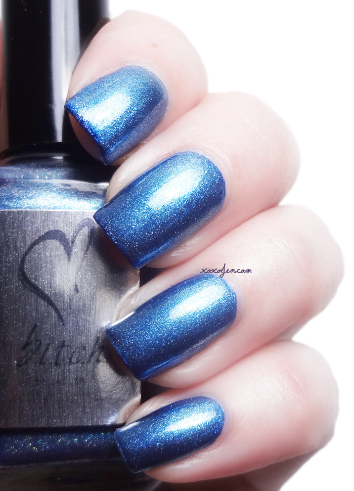 xoxoJen's swatch of b.i.t.c.h. by jaclyn Intelligent