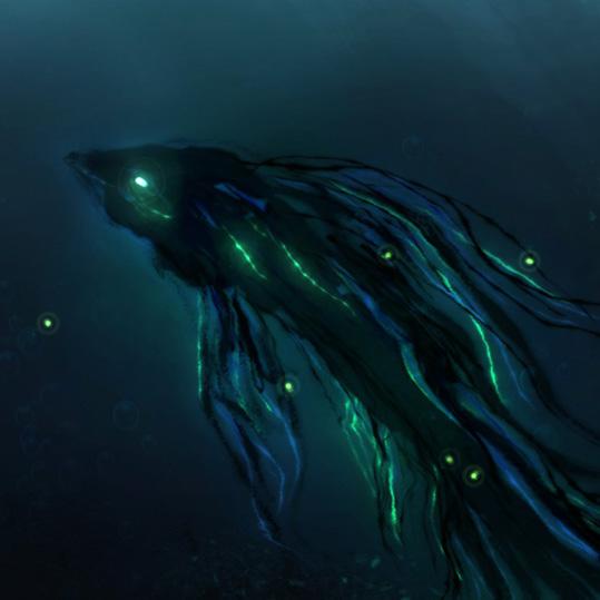 Deep Sea Creature Wallpaper Engine