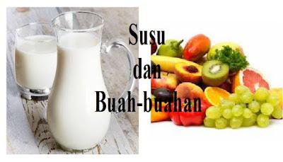 Kebiasaan mencampur minuman tesebut dengan susu untuk menambah cita rasa manis dan gurih seperti harus anda tinggalkan. Karena, kandungan asam dari berbagai buah tersebut akan mengikat protein pada susu yang akan sulit dicerna oleh tubuh.