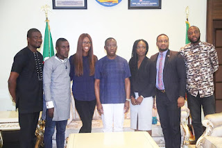 YOUTH EMPOWERMENT: Okowa Meets Orode Uduaghan, Other Young Entrepreneurs