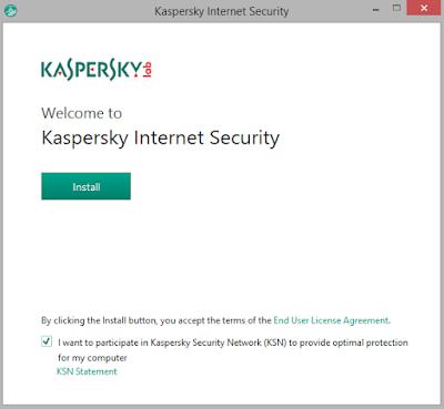 Cara Install Kaspersky Internet Security 2019