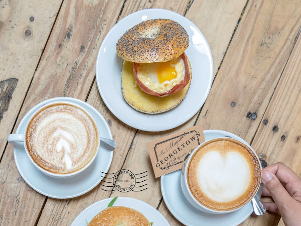 The Mugshot Cafe with the best Bagel @ Chulia Street, Georgetown, Penang