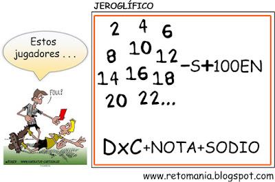 Jeroglíficos, Retos para pensar, Retos matemáticos, Desafíos matemáticos, Problemas matemáticos, Problemas de lógica, Problemas de ingenio, Jeroglíficos para estudiantes, Jeroglíficos con solución.