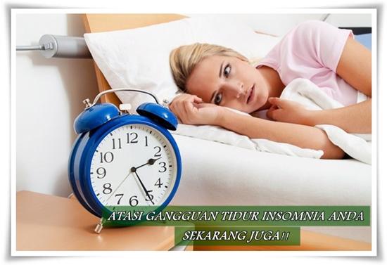 Cara Mengatasi Gangguan Tidur Insomnia Secara Alami