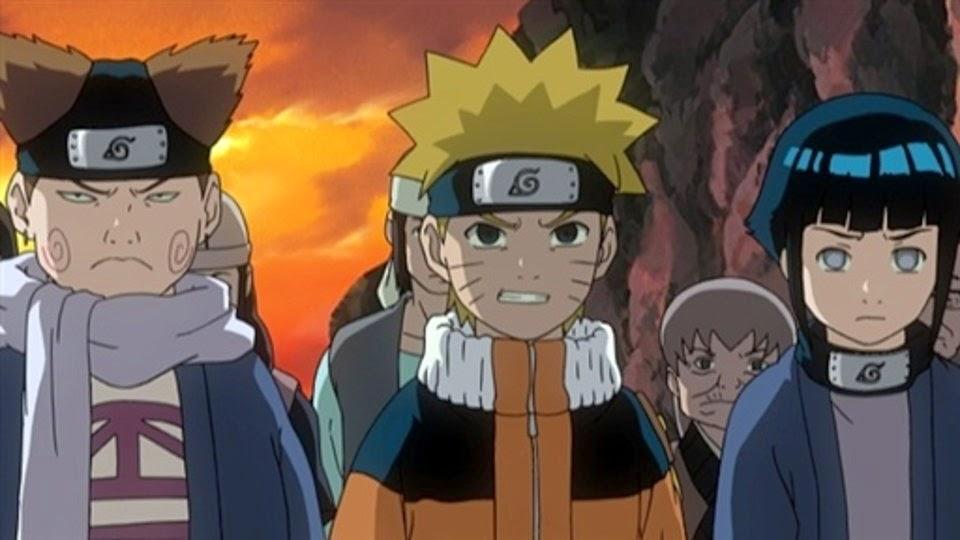 Choji, Naruto y Hinata