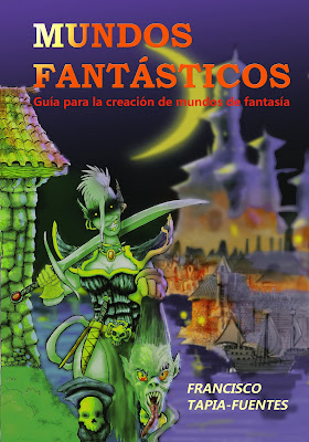 Mundos Fantásticos 2ª edición. Portada.