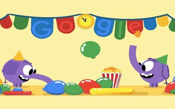 جوجل تحتفل بليلة رأس السنة مع رسومات متحركة مبتكرة