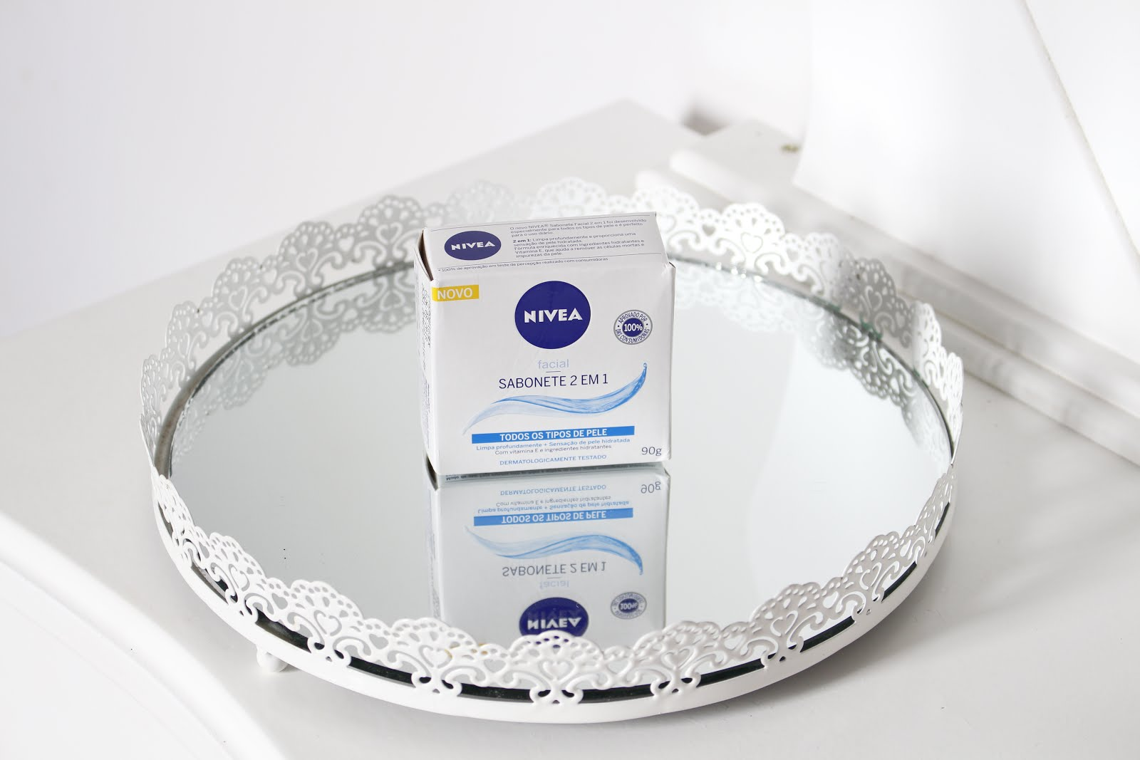 Nivea sabonete facial 2 em 1 - Blog Cris Felix