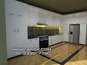 jasa pembuatan kitchen set dan meja kantor