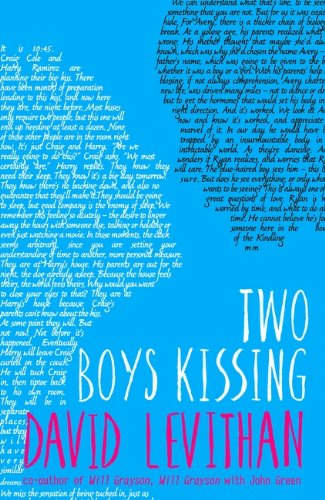 Two Boys Kissing by David Levithan UK Cover