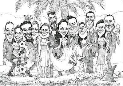 caricatura en España
