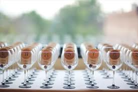 Wine Themed Weddings Have Your Cards Double As Wedding Favors Place In Personalized Gles