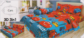Sprei Lady Rose Cars