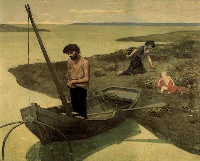 Puvis de Chavannes - Le pauvre pêcheur,1881