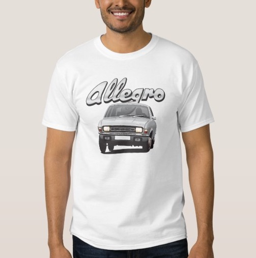 Austin Allegro customizible t-shirt