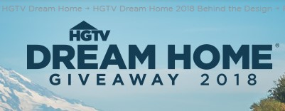 Hgtv sweepstakes dream home giveaway 2018