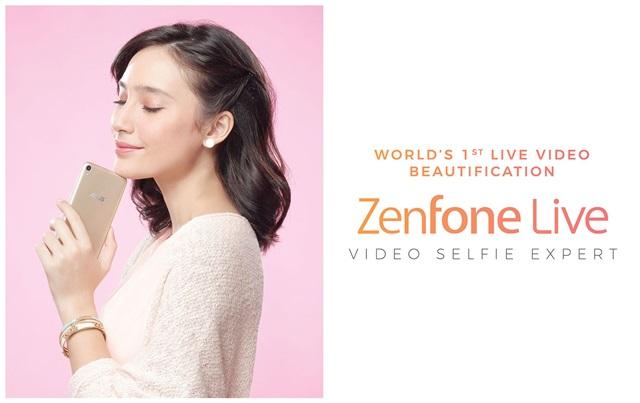 ASUS Zenfone Live, Harga Irits dengan Fitur BeautyLive