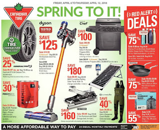 Canadian Tire Flyer  Weekly -Valid April 6 –  April 12, 2018
