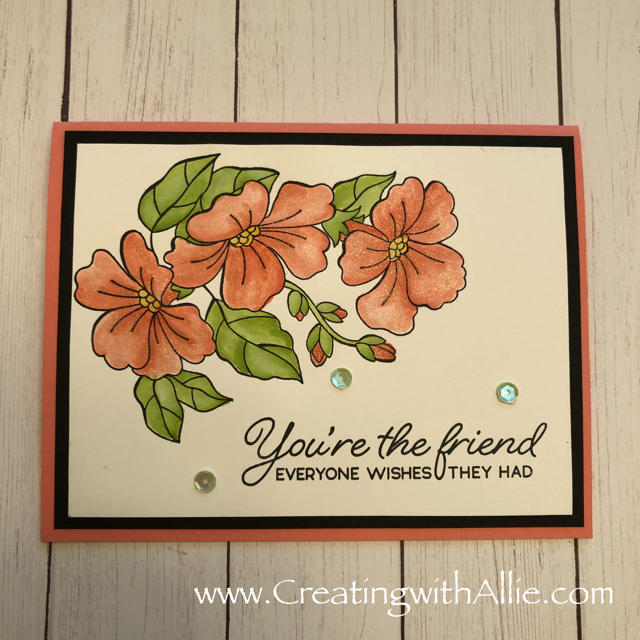Check out the blog post where I show you card making ideas, thic card features Stampin Up's Blended season Bundle!  You'll love how quick and easy this is to make!  www.creatingwithallie.com #stampinup #alejandragomez #creatingwithallie #cardmaking ideas #papercrafts #handmadegreetingcards #fun #creativity #makeacard #sendacard #stampingisfun #sharewhatyoulove #handmadecards #friendshipcards
