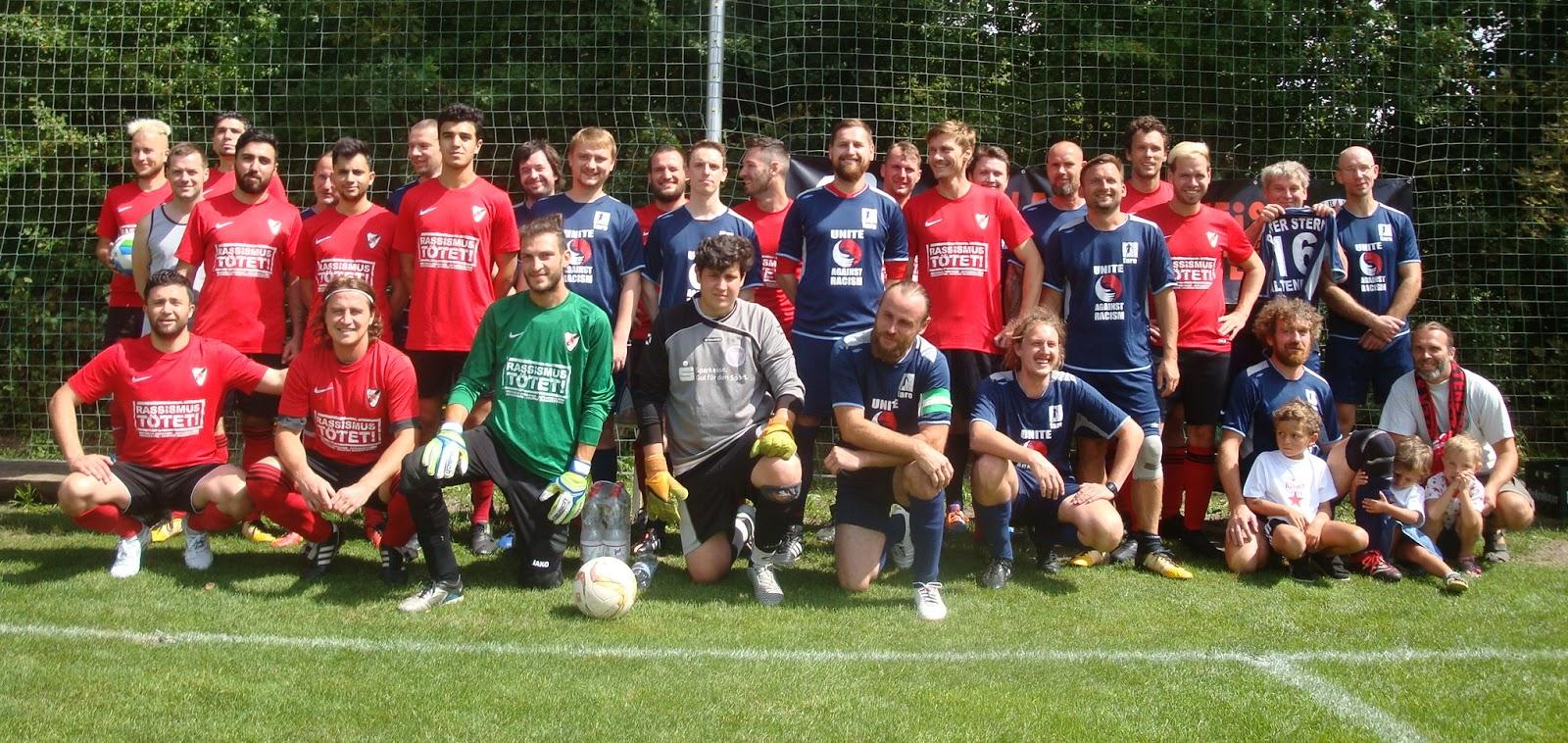 Roter Stern Altenburg Fussball August 2018