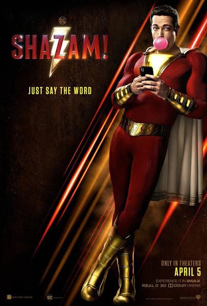Poster of Shazam! (2019) Dual Audio [Hindi-DD5.1] 720p BluRay ESubs Download