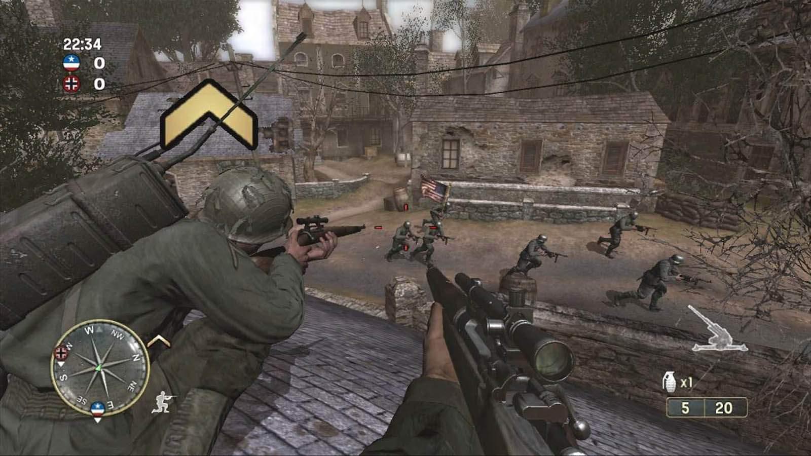تحميل لعبة Call of Duty 3 مضغوطة بروابط مباشرة كاملة مجانا
