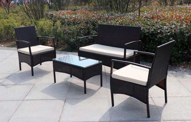 La web de la decoracion y el mueble en la red mueble para for Conjunto sofa terraza