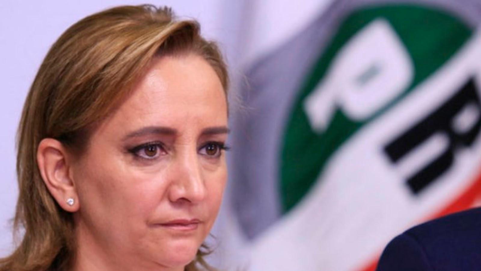 """""""Hay que hacer política que acerque al PRI con la gente"""", pide Ruiz Massieu ante crisis."""