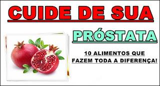 10 Alimentos que protegem a Próstata