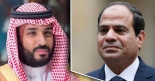 ولي العهد السعودي محمد بن سلمان في ضيافه مصر