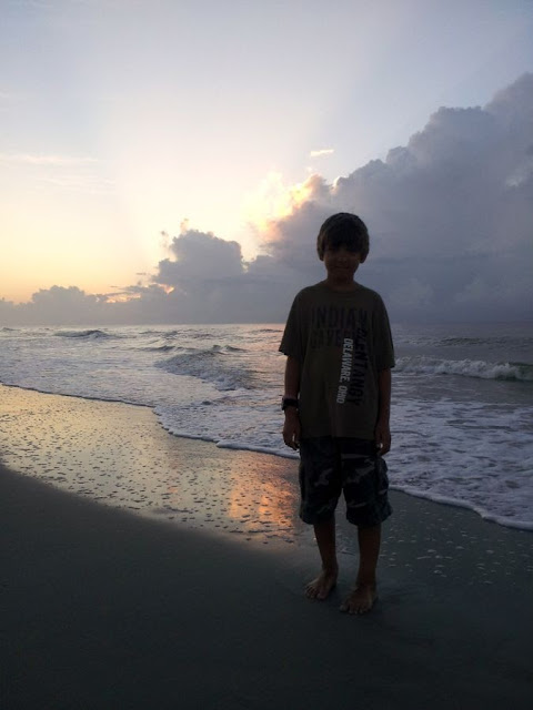 Focus on Life: Week 32 ~ From where I stand: Myrtle Beach, SC vacation... sunrise at he ocean! :: All Pretty Things