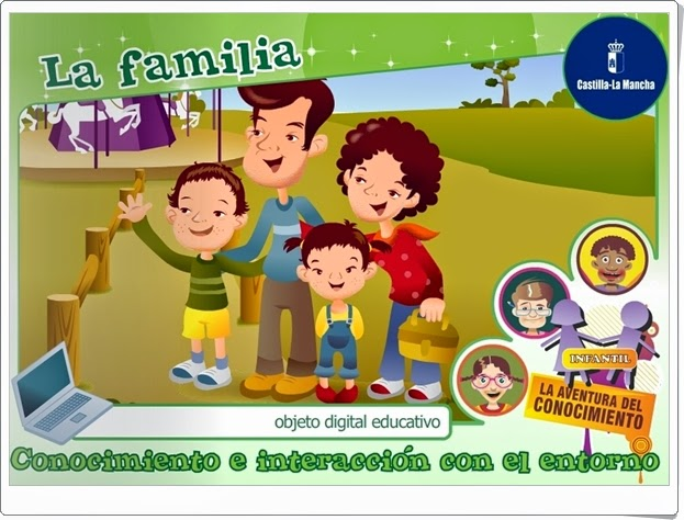 """""""La familia"""" (Junta de Castilla La Mancha)"""